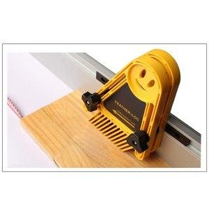 Image 3 - Многоцелевой набор досок Loc для перьев, двойные перьевые пластины, калибровочный слот, деревообрабатывающий гравировальный инструмент для циркулярных пил