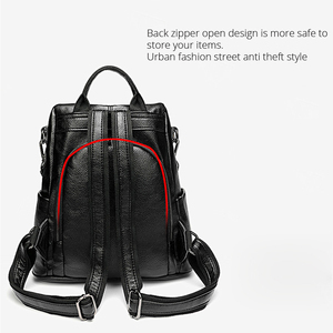 Image 5 - POMELOS Women Backpack High Quality Soft PU Leather Anti Theft Backpack For Women Waterproof Backpack Woman Street Style Bagpack