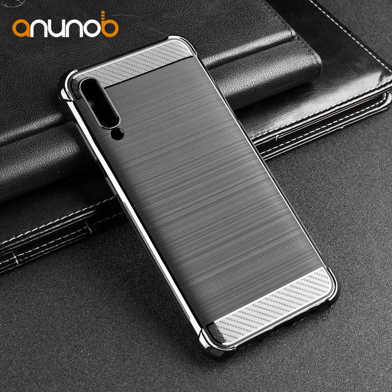 Case For Samsung Galaxy A30 A50 A40 A10 A70 Case Silicone Cover Shockproof Carbon Fiber Phone Case For Samsung A30 A 30 Cover