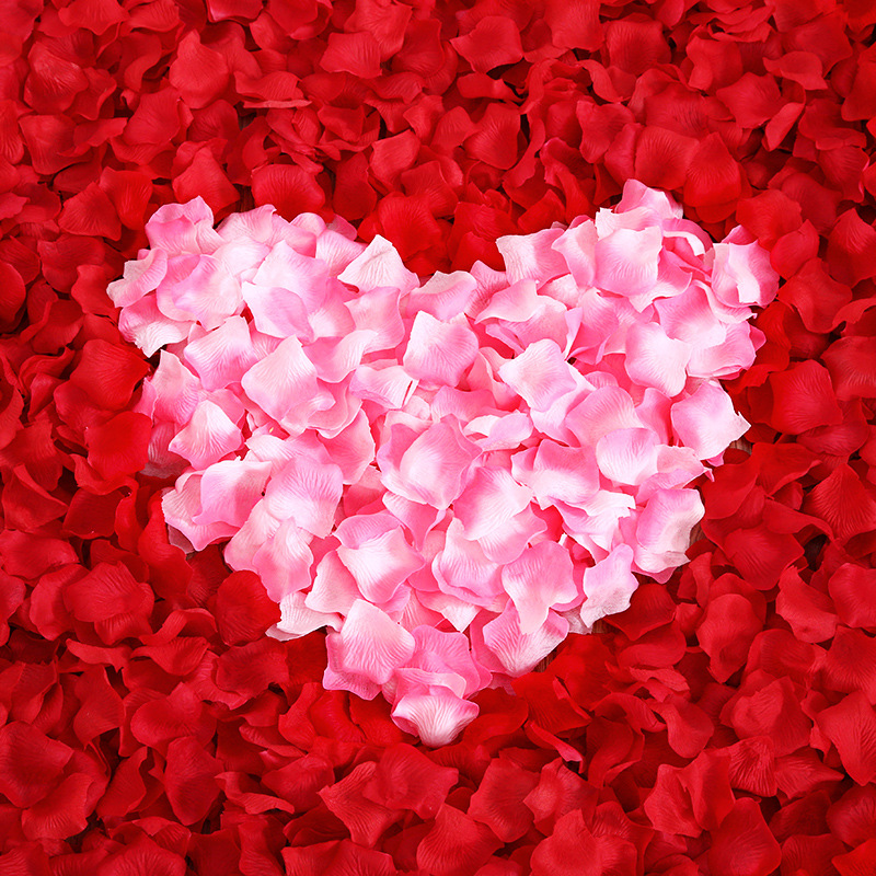 Aliexpress.com : Buy 100pcs Multicolor Rose Petal 4.5cm