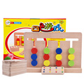 Монтессори материалы дерево домино игрушки для детей дошкольного обучения обучающие совета деревянные математика детские игрушки развивающие игрушки W185