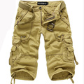 Mens Military Cargo Shorts Army Camouflage Shorts Men Cotton Loose Work Casual Shorts Man Clothing Asian/Tag Size 29-38 No Belt