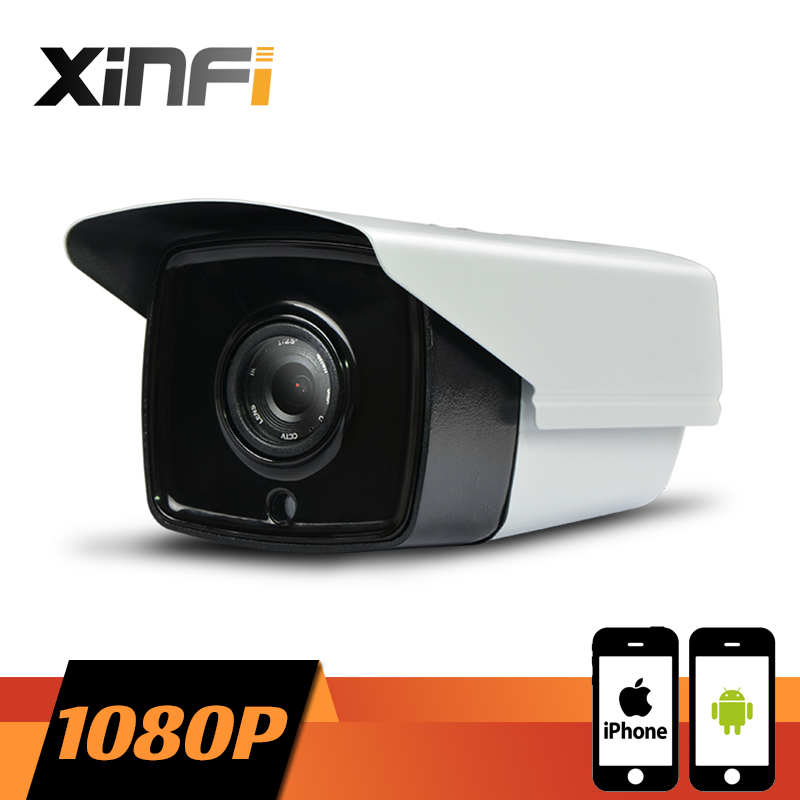 XINFI HD 1080P CCTV camera 2.0 MP night vision Outdoor Waterproof network CCTV IP camera P2P ONVIF 2.0 PC&Phone remote view
