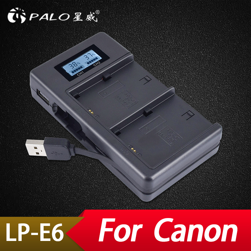 Camera Charger Battery Charger For Canon Lp-e17 Lp-e6 For Nikon En-el15 En-el14 With Us Quick Charging Adapter Digital Lcd Display Usb Input Back To Search Resultsconsumer Electronics