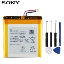 Original SONY Battery For Sony LT26 LT26w Xperia acro HD SO-03D LIS1489ERPC Genuine Replacement Phone Battery With Tools 1840mAh цены онлайн