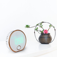Mini Portable High Precision Indoor Haze Dust PM2.5 Meter Detector Air Monitor Air Particle Counter HT 403 LCD with Backlight