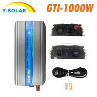 MPPT grid connected inverter pure sine wave GTI 1000W solar inverter 110Vor220V18V36V