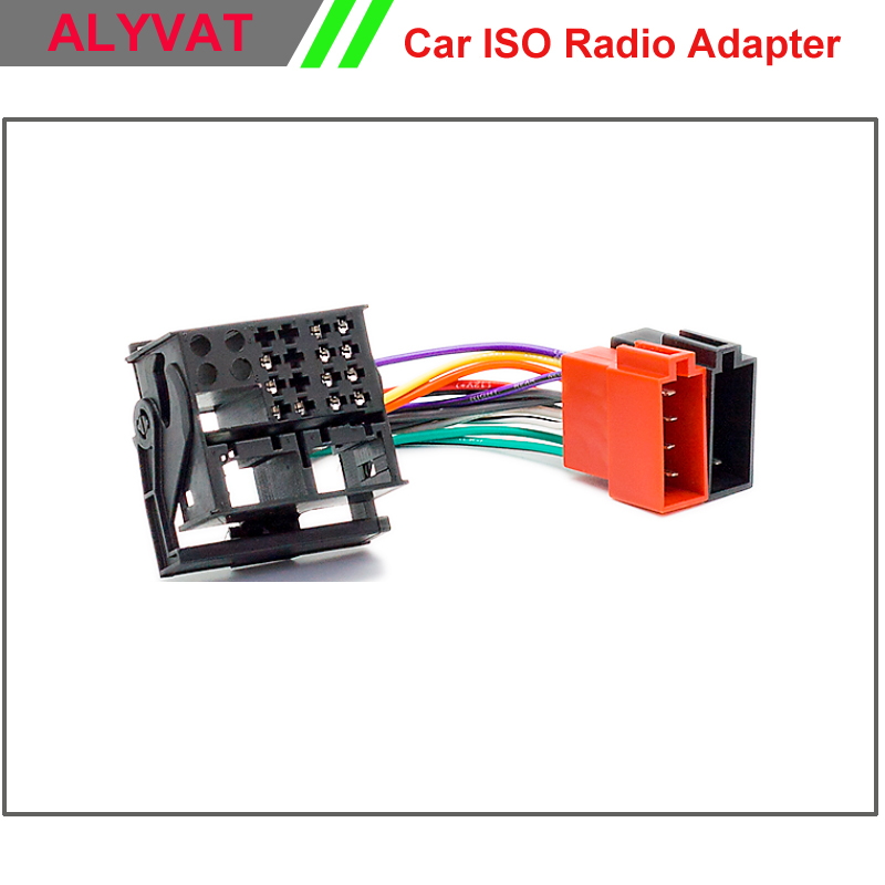 Car Radio ISO Wiring Harness For RENAULT Fluence Megane III Scenic Grand Scenic Wire Cable Stereo car radio iso wiring harness for renault fluence megane iii scenic renault clio stereo wiring harness at readyjetset.co