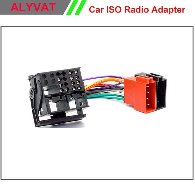 Car Radio ISO Wiring Harness For RENAULT Fluence Megane III Scenic