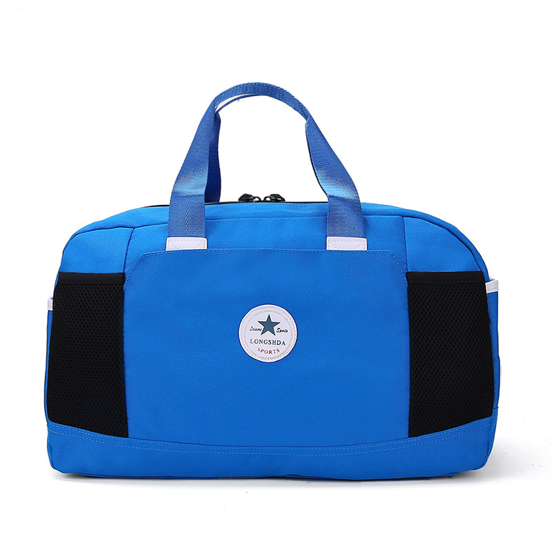 Ringed Penguin Women Travel Bag Nylon Stor Kapacitet Bagage Weekend - Väskor för bagage och resor - Foto 2
