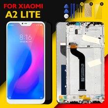 Orijinal ekran için Xiaomi Mi A2 Lite LCD ekran çoklu dokunmatik Panel Redmi 6 Pro LCD Digitizer meclisi yedek yedek parçaları