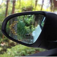 Nova marca de energia aquecida azul grande angular vista lateral espelho retrovisor óculos para toyota corolla