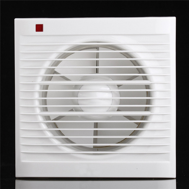 6 Inch Mini Wall Window Exhaust Fan Bathroom Kitchen Toilets Ventilation  Fans Windows Exhaust Fan Installation