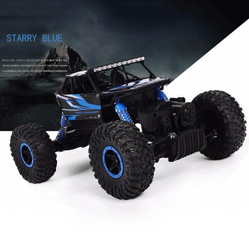 Chaude RC Voiture 4WD 2.4g 4WD 4x4 Conduite Rock Robots Voiture Double Moteurs D'entraînement Bigfoot Voitures À Distance contrôle Modèle Hors Route Véhicule Jouet