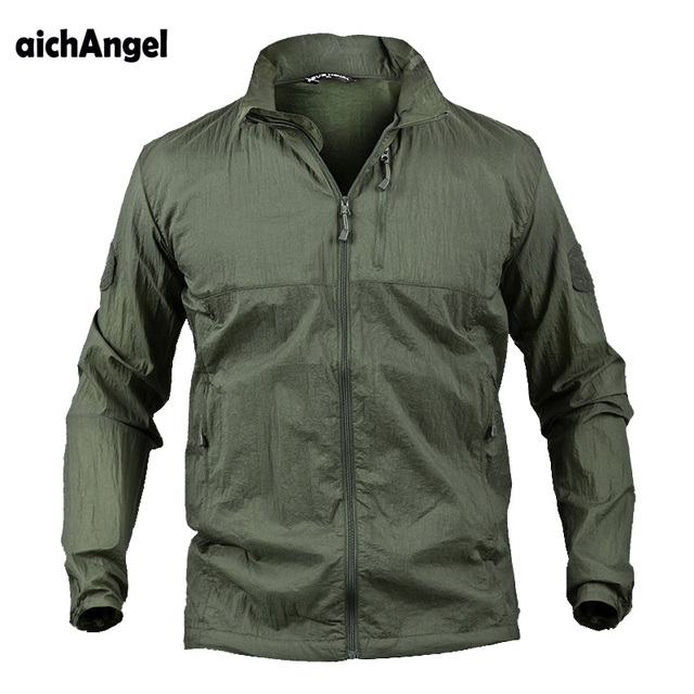 Water Resistant and Windbreaker Ultralight Outdoor Camouflage Jacket