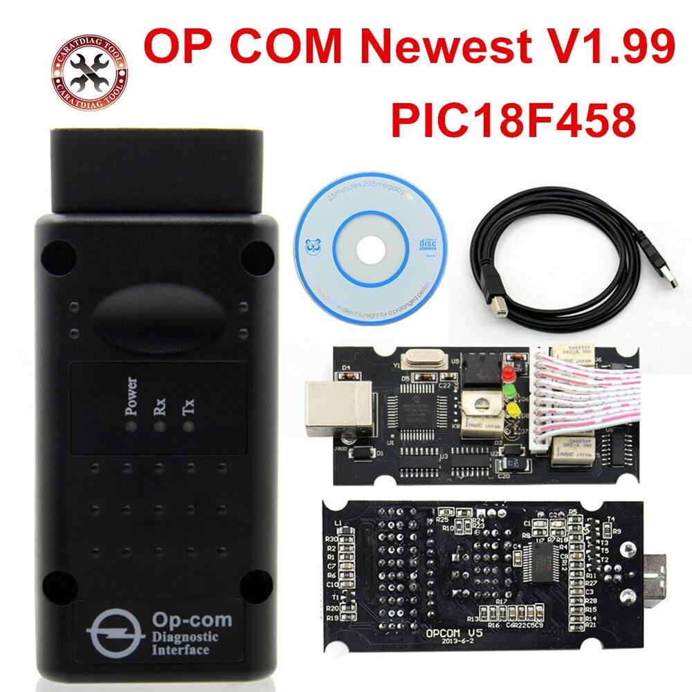 Opcom firmware 1.70 op-el, ferramenta de diagnóstico 1.78 v1.99 pic18f45 OP-COM v1.59 v1.60 com pic18f458 real ftdi opcom 1.99