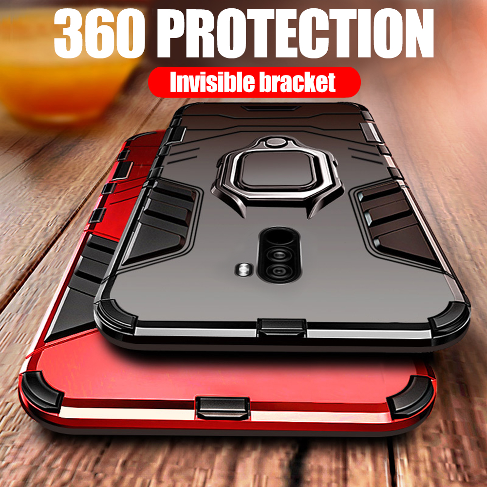 KISSCASE Case For Huawei Mate 20 Lite P20 P30 Pro Armor Magnet Phone Case Honor Note 10 6X 8X P Smart Y9 2019 Shockproof bumper image