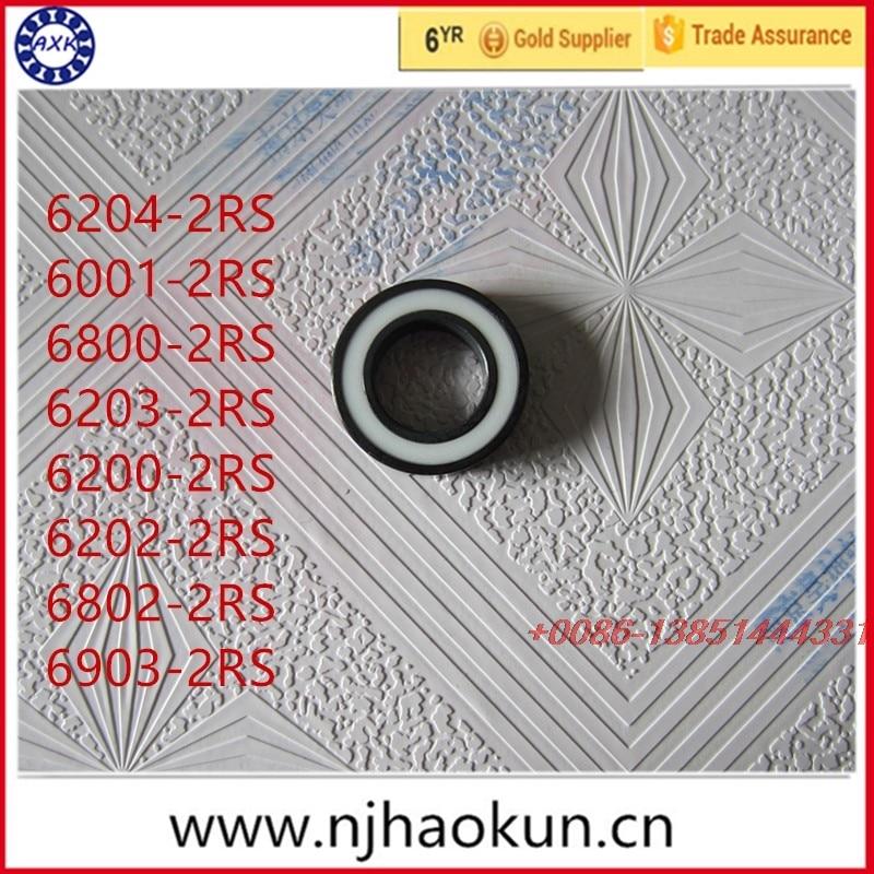 2017 Real Free Shipping 1pcs 6204-2rs 6001-2rs 6800-2rs 6203-2rs 6200-2rs 6202-2rs 6802-2rs 6903-2rs Full Si3n4 Ceramic Bearing чайник bosch twk 6001