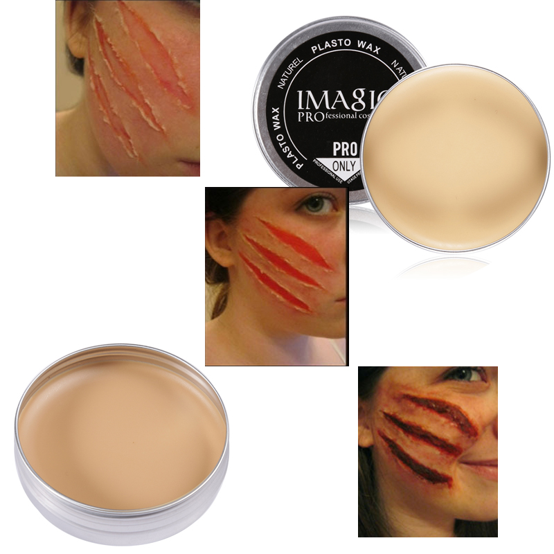 Special Effect Nature Skin Wax for Conceal Eyebrow Halloween
