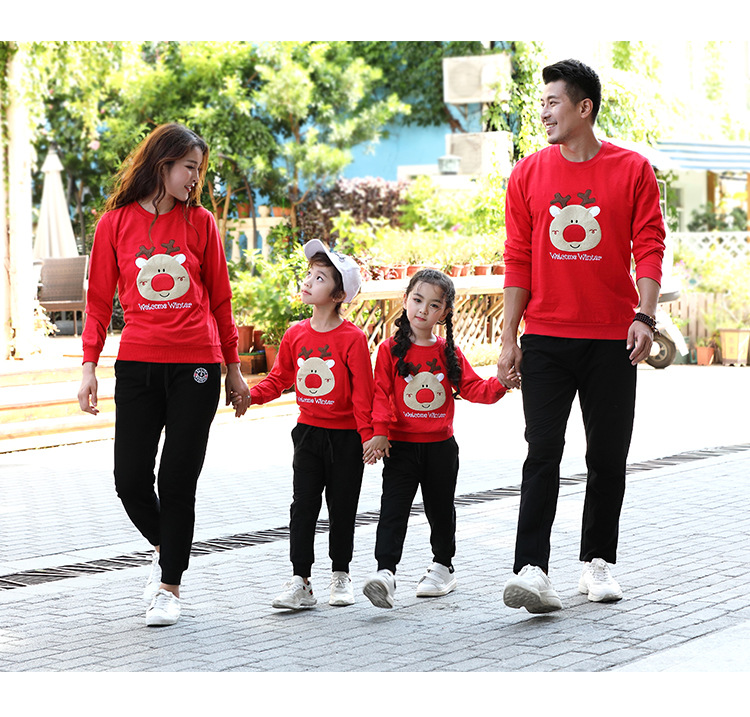 Household Search for Mom Daughter Father Household Clothes 2019 Christmas Deer Dad Mommy and Youngsters Garments Household Matching Outfits Matching Household Outfits, Low cost Matching Household Outfits, Household Search...
