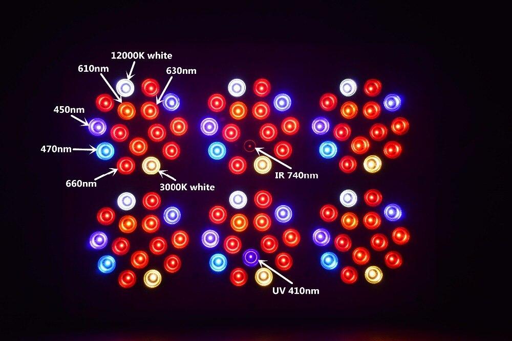 Apollo 6 450W пълен спектър LED растеж - Професионално осветление - Снимка 6