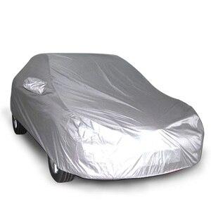 Image 5 - 가득 차있는 차 덮개 breathable uv 보호, 반대로 먼지 및 찰상, 방연제 방패, 더 많은 차 후드를 위한 다 크기
