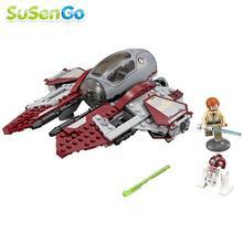 Star Wars Jedi Obi-Wan Interceptor Building Block Fuerza Despierta Minifigures Juguete Del Cabrito Del Bebé Regalo Dameron Poe Compatible con L