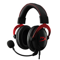 2015 Kingston HyperX Cloud II Hi Fi Gaming Headset for PC PS4 Xbox 7.1 Virtual Surround Sound with Noise Cancelling microphone