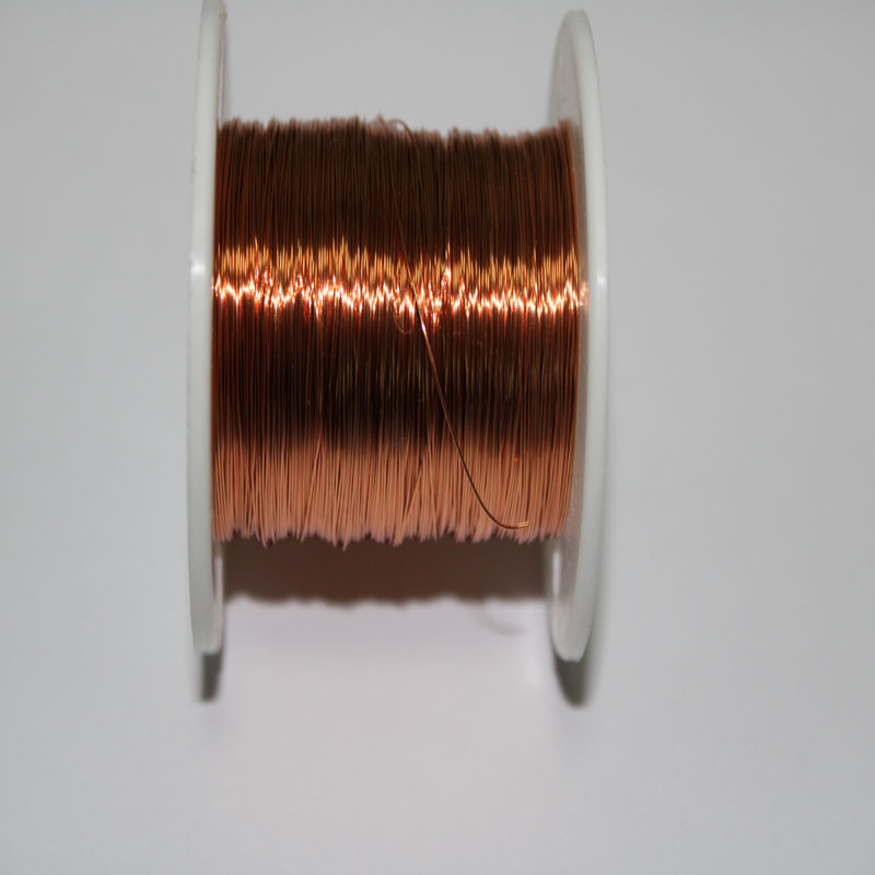 """14 AWG Gauge Enameled Copper Magnet Wire 2.5 lbs 200/' Length 0.0655/"""" 155C Red"""