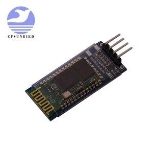 Image 4 - 50 stks/partij HC 05 HC 06 master slave anti reverse, geïntegreerde Bluetooth seriële doorwerking module, draadloze seriële voor arduino