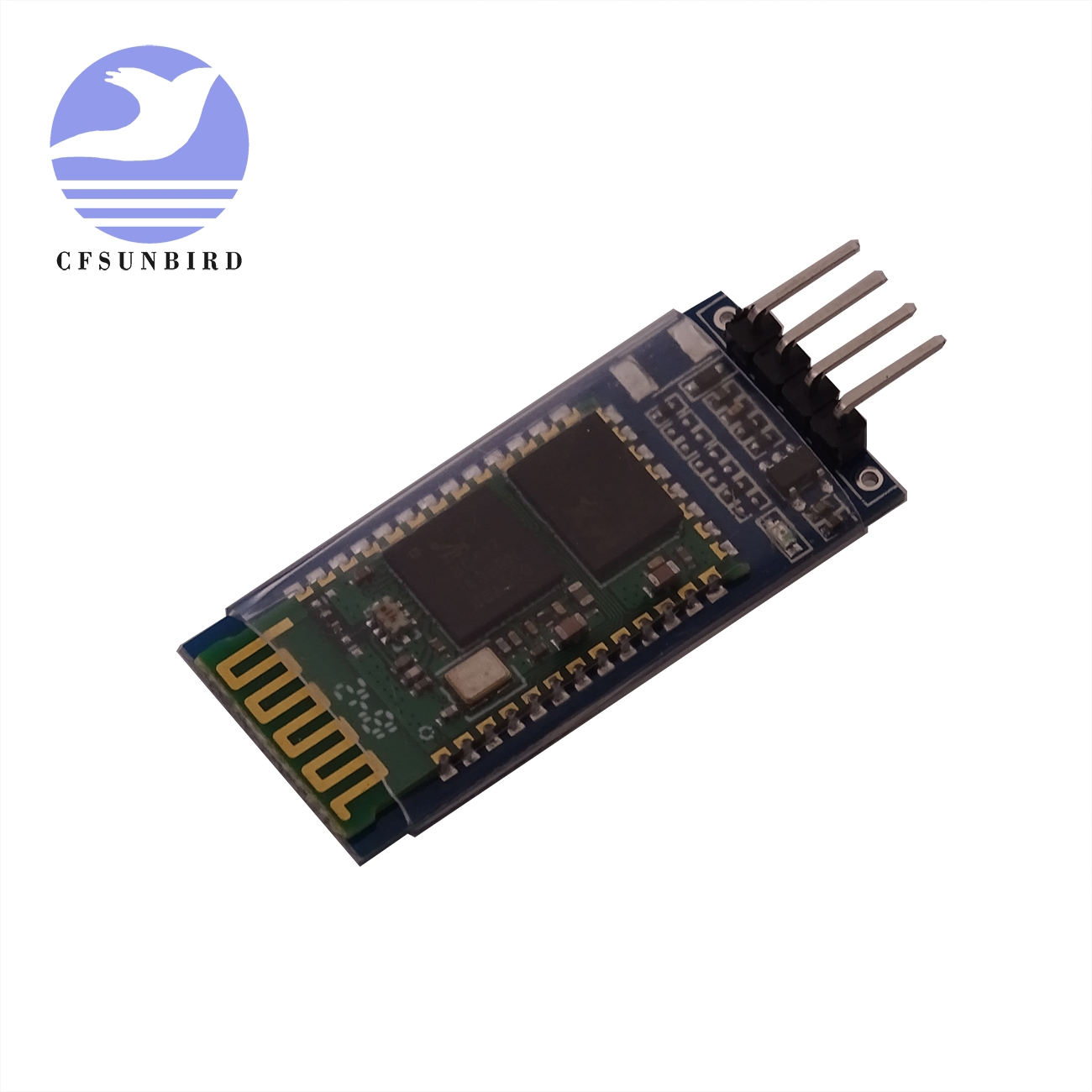 Image 4 - 50pcs/lot HC 05 HC 06 master slave  anti reverse, integrated Bluetooth serial pass through module, wireless serial for arduino-in Integrated Circuits from Electronic Components & Supplies