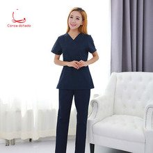 Korean version of surgery clothes wash short sleeve split suit medical service brush hand clothing