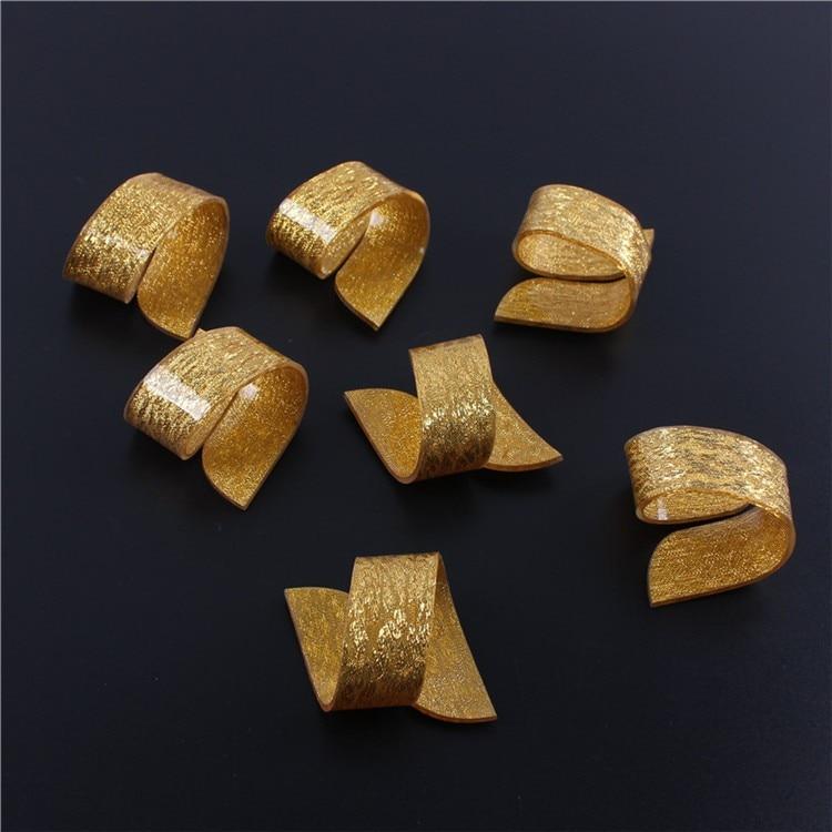 Envío Gratis entrega rápida oro plata a granel Servilleteros ...