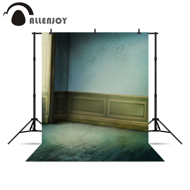 Allenjoy photography backdrops vintage real filming wall wood floor Photophone background photography background for photography