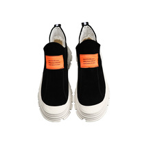 Outdoor Sock Sneakers Men High Help Casual Walking Shoes Slip-On  Fashion Breathable Black Sport Lifestyle Shoes for Men peak men fashion walking shoes classic leisure lifestyle shoes wearable anti slip sport shoes breathable sneakers