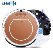 2017 ISEELIFE Mokro Robot Vacuum Cleaner dla Domu 2 in1 PRO2S Mop Suchej Mokrej Wody Zbiornika 800 PA Auto Czyszczenia Inteligentny ROBOT ASPIRADOR