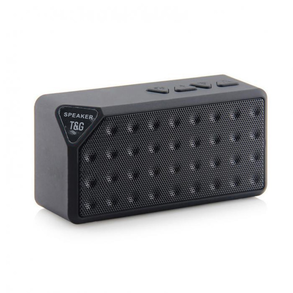 Mini Altoparlante Bluetooth X3 Stile di Modo TF Wireless USB Portatile di Musica Sound Box Altoparlanti Subwoofer con Il Mic