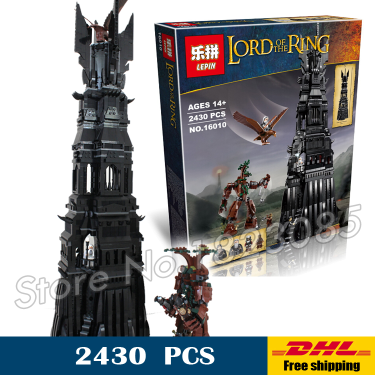 2016 new lepin 16010 2430pcs lord of the rings the tower