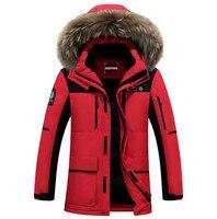 Chất Lượng cao 2016 Nam Thương Hiệu Quần Áo Down Jacket Winter parka người đàn ông ấm áp chiếc áo khoác dày viishow ice winter canada goode áo khoác