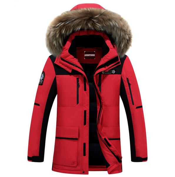 High Quality 2016 Brand Clothing Men Down Jacket Winter parka men warm thick coat viishow ice winter canada goode jacket