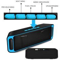 Portable Wireless blutooth Speaker mi 10W Big Power PC mini sound box doss handsfree boombox Radio USB phone computer for xiaomi