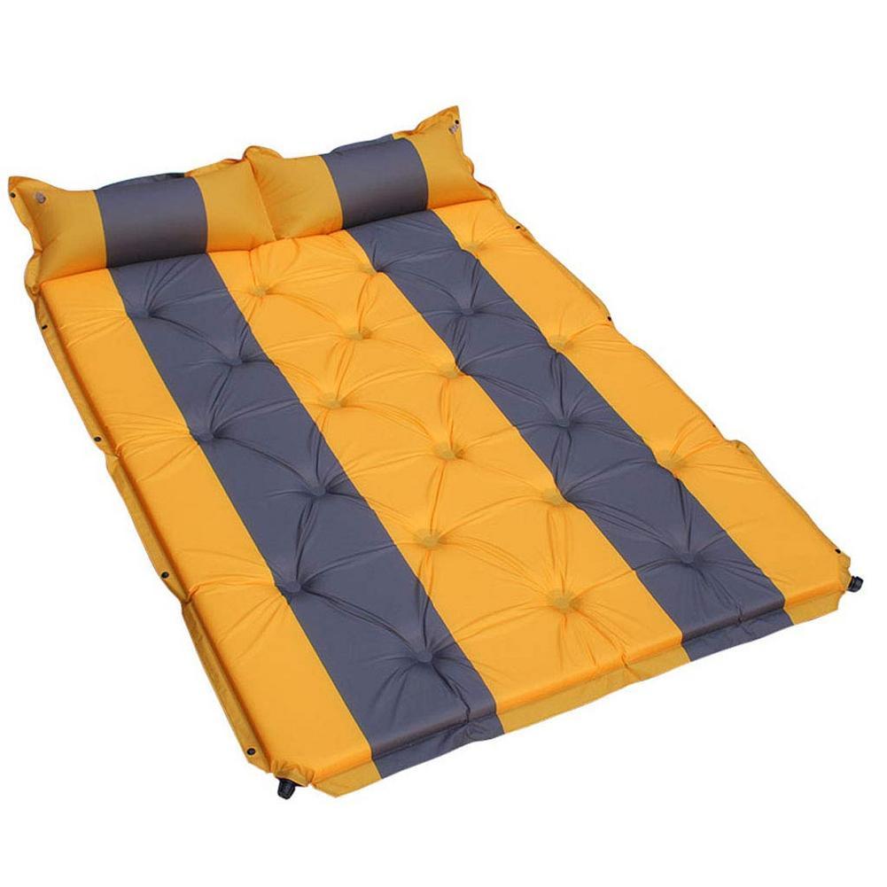 Lit de voyage de Camping en plein Air tapis étanche à l'humidité SUV voiture auto conduite Tours matelas gonflable siège tapis gonflable avec pompe à Air - 3