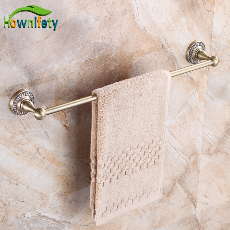 Brand New Antique Bronze Bath Towel Rings Wall Mount Soild Brass Towel Hanger