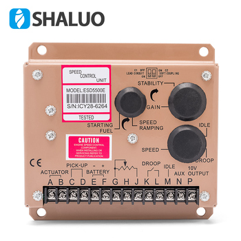 hot sale ESD5500E Generator Speed Controller module 5500E electric speed Governor 12v  24v DC motor control diesel engine part