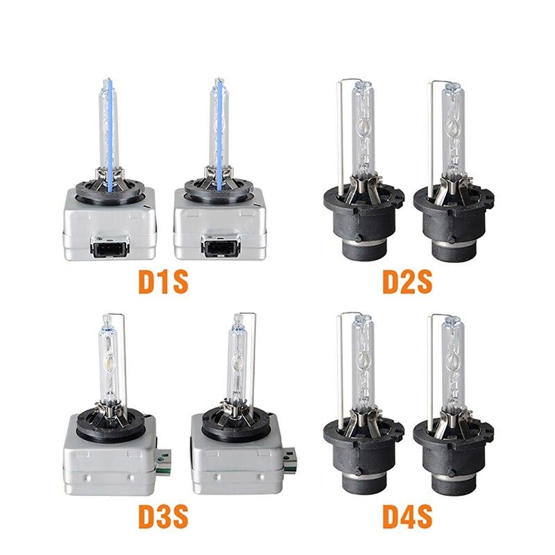 RACBOX 35W 12V D1S D2S D3S D4S HID Xenon Bulb Xenon Lamp For HID Conversion Car Headlight 3000K 4300K 5000K 6000K 8000K 12000K