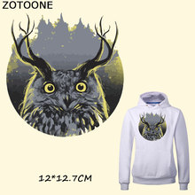 ZOTOONE Cute Cartoon Animal Iron on Patches for Clothes Bags Dress Heat Transfer DIY Accessory Decoration A-level Washable F