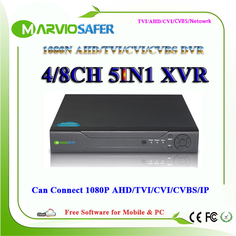 4ch 8ch 1080N HD AHD-NH/ 8 Channel TVI AHD CVI DVR TVR CVR AVR CCTV Camera Recorder Can Connect to AHD-H 1080P HDMI Output павел траннуа клубника без ошибок от павла траннуа