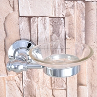 Soap Dishes Polished Chrome Soap Holder Ceramics Soap Dish For Bathroom Home Decoration Bathroom Accessories Nba786