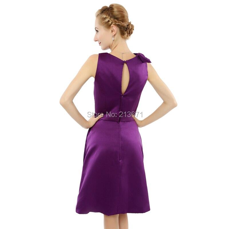 Baijinbai precio barato real vestidos de festa tafetán corto vestido ...