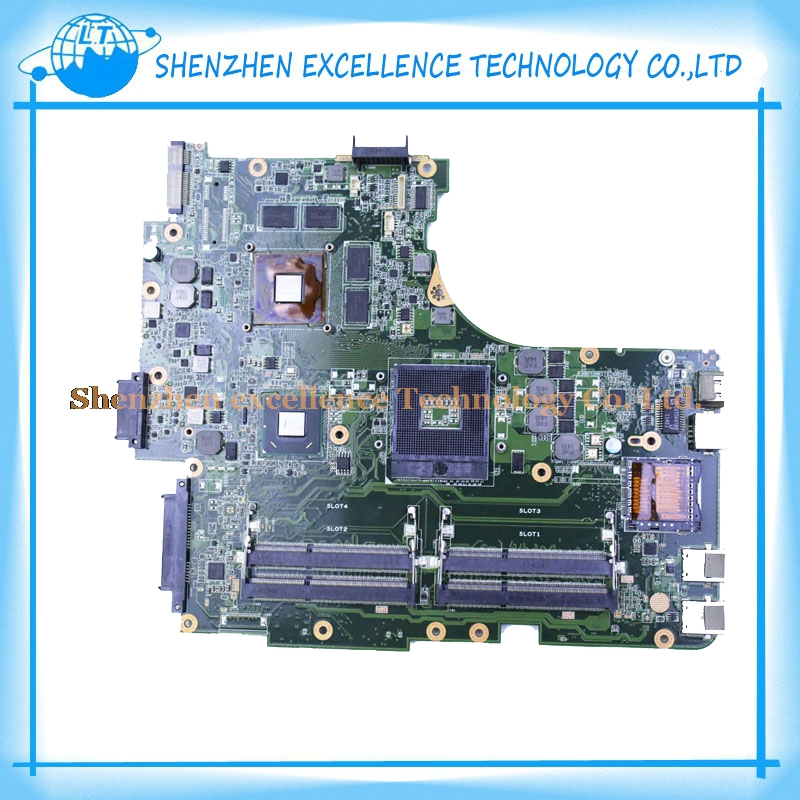 ФОТО In Stock! N53SV Motherboard MOBO Original For ASUS N53SV With 4 RAM SLOT GT540M 1GB Fully Tested Perfect
